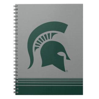 MSU Spartan Spiral Notebook