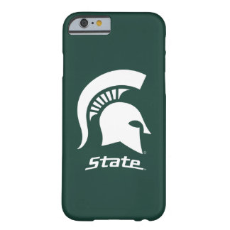 MSU Spartan with State Barely There iPhone 6 Case