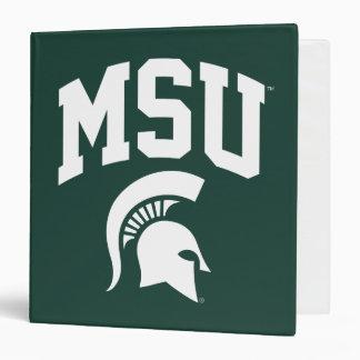 MSU Spartans 3 Ring Binder