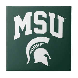 MSU Spartans Ceramic Tile