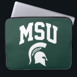 "MSU Spartans Computer Sleeve<br><div class=""desc"">Check out these new Michigan State University designs! Show off your MSU Spartan pride with these new Michigan State products. These make perfect gifts for the Spartan student, alumni, family, friend or fan in your life. All of these Zazzle products are customizable with your name, class year, or club. Go...</div>"