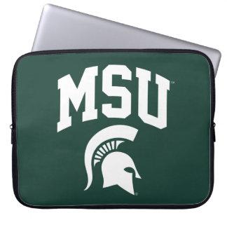 MSU Spartans Computer Sleeve