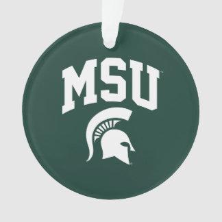 MSU Spartans Ornament