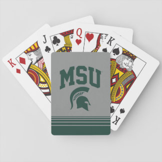 MSU Spartans Playing Cards