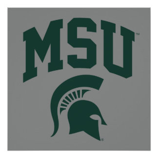 MSU Spartans Poster