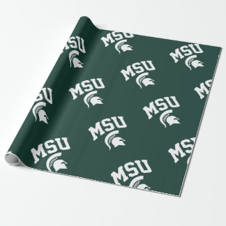 MSU Spartans Wrapping Paper