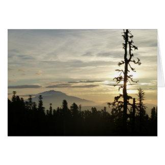 Mt. Adams at Sunrise (Note Card) Card