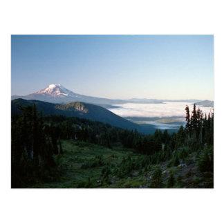 Mt Adams from the Goat Rocks Wilderness, WA Postcard