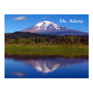 Mt. Adams from Trout Lake Postcard