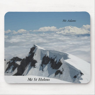 Mt Adams Mt St Helens mousepad