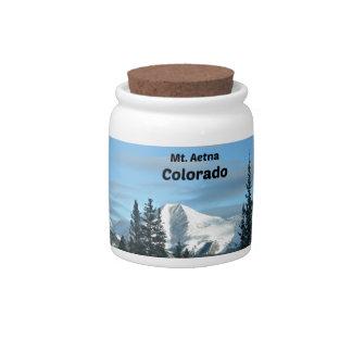 Mt. Aetna, Colorado Candy Jar