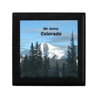Mt. Aetna, Colorado Jewelry Box