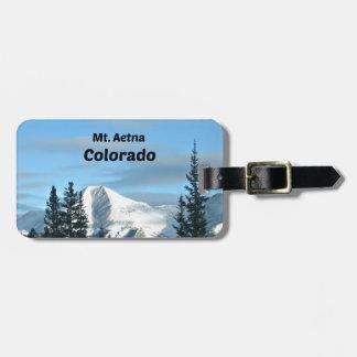 Mt. Aetna, Colorado Luggage Tag
