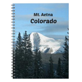 Mt. Aetna, Colorado Note Book