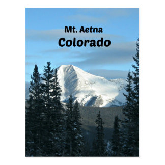 Mt. Aetna, Colorado Post Card