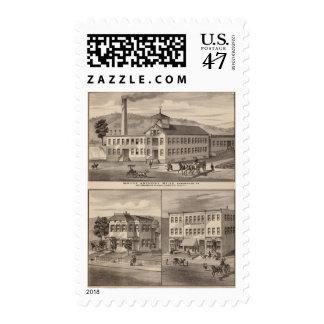 Mt. Anthony Mills Postage Stamp