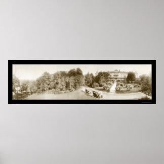 Mt Arlington NJ Hotel Photo 1913 Poster