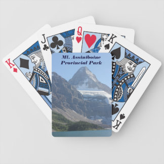 Mt. Assiniboine Provincial Park Bicycle Playing Cards