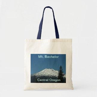 Mt. bachelor Budget tote Bags