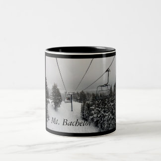 Mt. Bachelor lift, Mt. Bachelor Two-Tone Coffee Mug