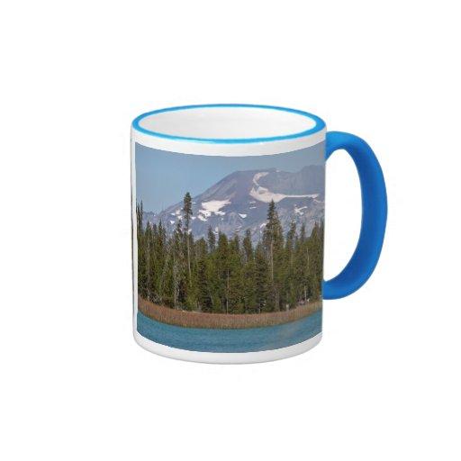 Mt Bachelor Oregon from Little Lava Lake Mugs
