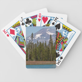 Mt Bachelor Oregon from Little Lava Lake Bicycle Playing Cards