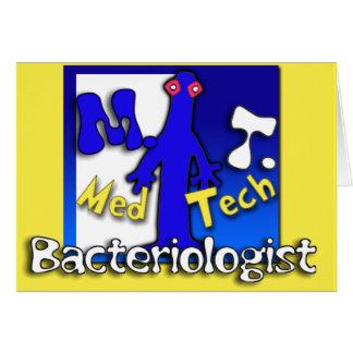 MT- BACTERIOLOGIST - MEDICAL TECHNOLOGIST - LAB CARD