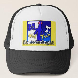 MT- BACTERIOLOGIST - MEDICAL TECHNOLOGIST - LAB TRUCKER HAT