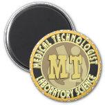 MT BADGE MEDICAL TECHNOLOGIST - LABORATORY MAGNET
