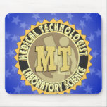 MT BADGE MEDICAL TECHNOLOGIST - LABORATORY MOUSE PAD