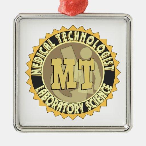 MT BADGE MEDICAL TECHNOLOGIST - LABORATORY ORNAMENTS