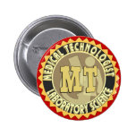 MT BADGE MEDICAL TECHNOLOGIST - LABORATORY PIN