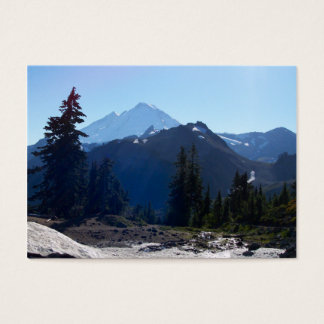 Mt. Baker from Artist Point. Business Card