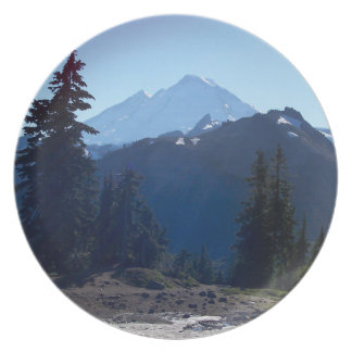 Mt. Baker from Artist Point Melamine Plate