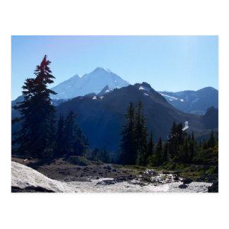 Mt. Baker from Artist Point. Postcard