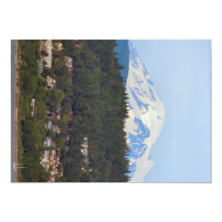 Mt Baker From The Bay Card