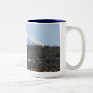 Mt Baker From The Bay Mug