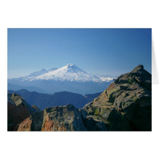 Mt. Baker greeting Card