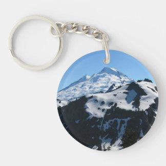 Mt Baker In July Keychain