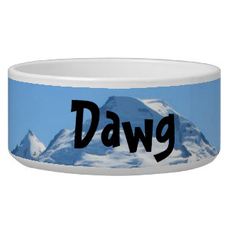 Mt Baker In July Pet Bowl