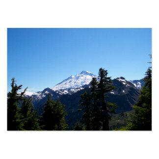 Mt Baker in Summer Business Card Templates