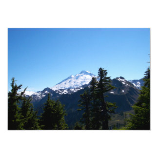 Mt Baker in Summer Card