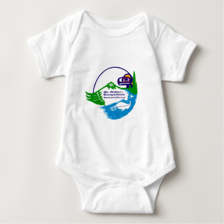 Mt Baker - Snoqualmie National Forest logo Baby Bodysuit