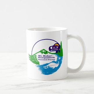 Mt Baker - Snoqualmie National Forest logo Coffee Mug