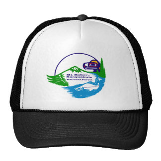 Mt Baker - Snoqualmie National Forest logo Trucker Hat