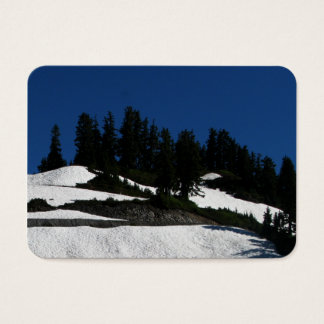 Mt Baker Summer Dusk Business Card
