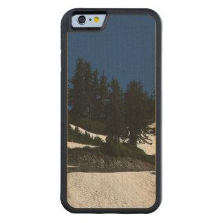 Mt Baker Summer Dusk Carved Maple iPhone 6 Bumper Case