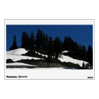 Mt Baker Summer Dusk Wall Decal