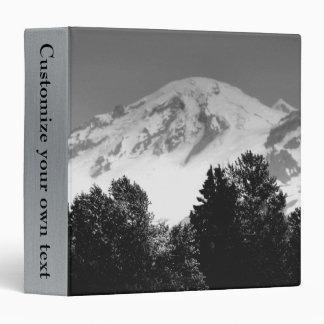 Mt. Baker Through Trees 3 Ring Binder