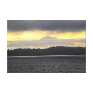 Mt. Baker Volcano Canvas Prints